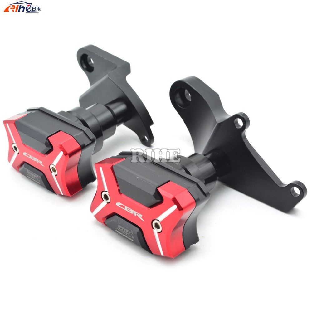 где купить Motorcycle cnc Aluminum Frame Crash Pads Engine Case Sliders Protector For Honda CBR500R 2013 2014 2015 2016 дешево