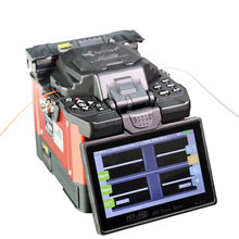 Tumtec FST-16s 5 inch 500x magnification LCD FTTx fiber optical welding machine optic fusion splicer