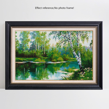 HAUCAN DIY 5D Diamond Painting Tree Needlework Craft Gift Full Square Diamond Mosaic Embroidery Scenery Home Decoration F1103
