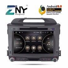 """Android 8.0 Autoradio Lettore DVD 2 Din Per Kia Sportage 2009-2015 8 """"IPS Multimediale di Navigazione GPS stereo 4 + 32 GB del Regalo Della Macchina Fotografica"""
