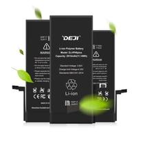 Купить с кэшбэком DEJI Battery For iPhone 5se/6/6s/6p/6sp With Free Tools Kit Real Capacity Original Lithium Batteries Replacement 0 Cycle