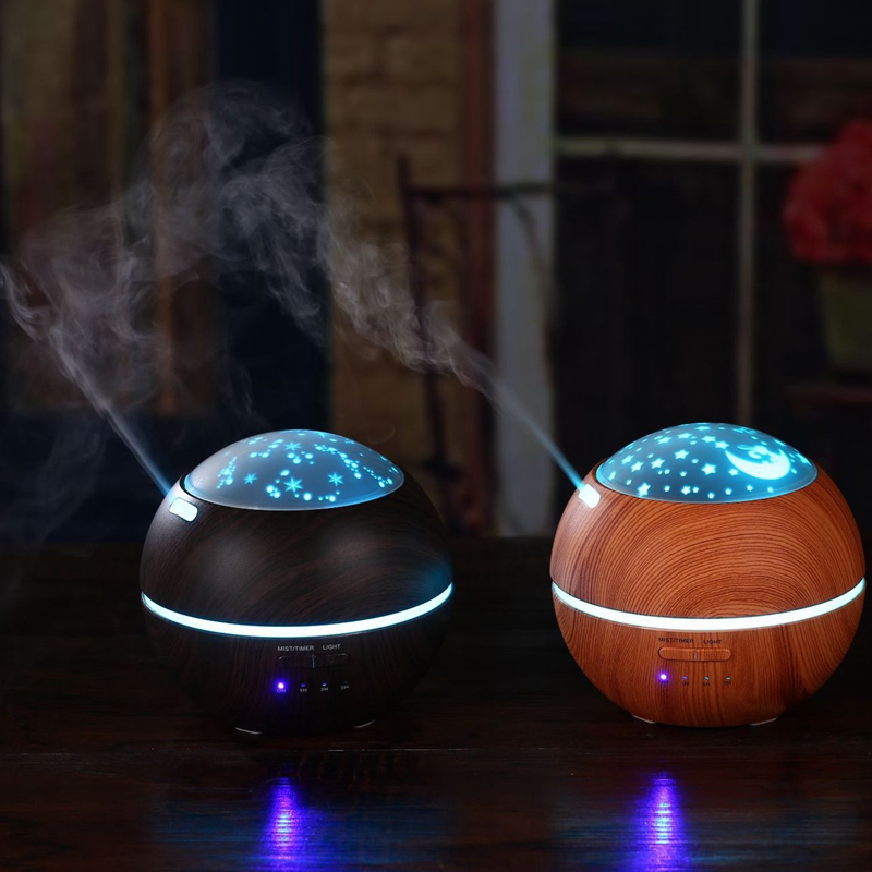 DMWD 150ML Ultrasonic Aromatherapy Diffuser With Flower Aroma Diffusers Cool Mist Humidifier For Office Home Bedroom Living Room home office mini aroma air diffusers ultrasonic mist led humidifier 120 ml bedroom ac power