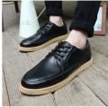 New 2016 Fashion Men Shoes PU Leather Red  Men's Flats Oxford Shoes Casual Low Cut Lace-up Breathable Comfortable Shoes