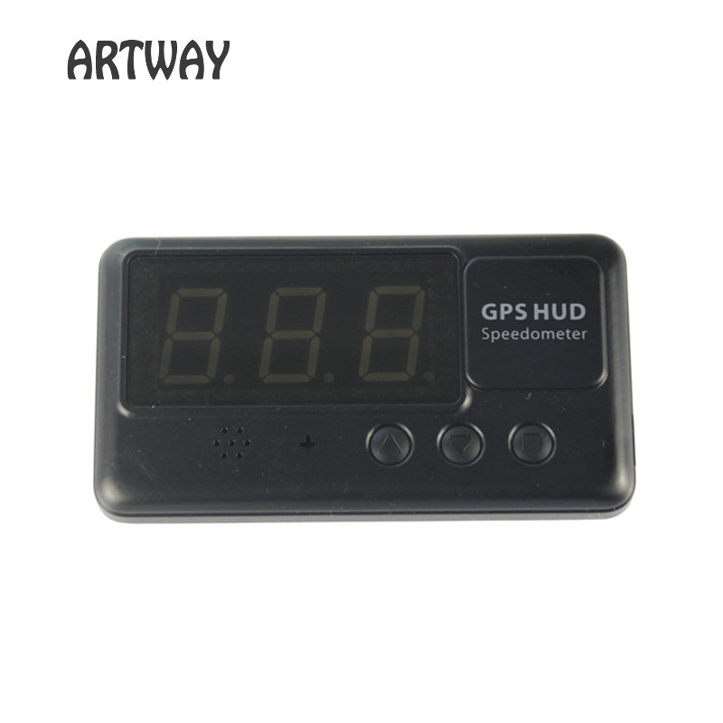 <font><b>C60</b></font> <font><b>GPS</b></font> HUD heads up display speed display with Speedmeter and Over Speed Alarm Warning image