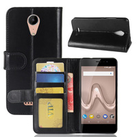 Vintage Wallet Case For Wiko Tommy 2 Retro PU Leather Flip Cover Phone Bags Shells With