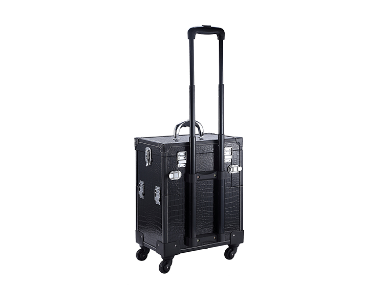 Aliexpresscom Buy Professional Aluminum Rolling Makeup Cosmetic - Aluminum trolley case pro rolling makeup cosmetic organizer