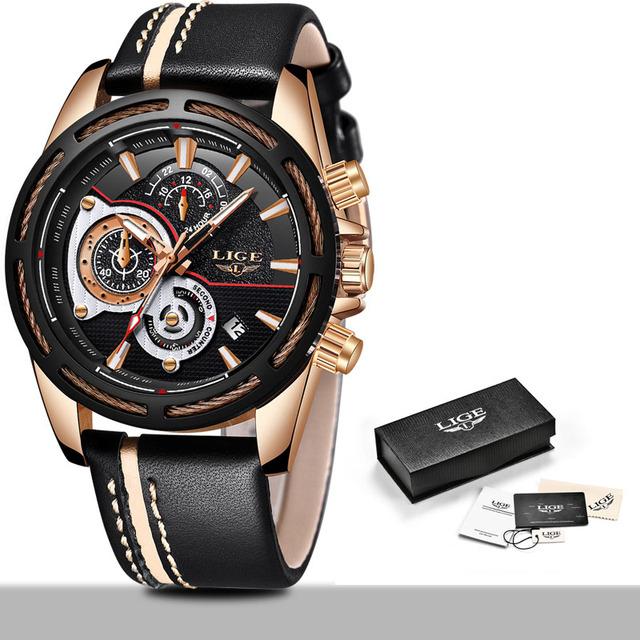 Men's Waterproof Luxury Quartz Wristwatches