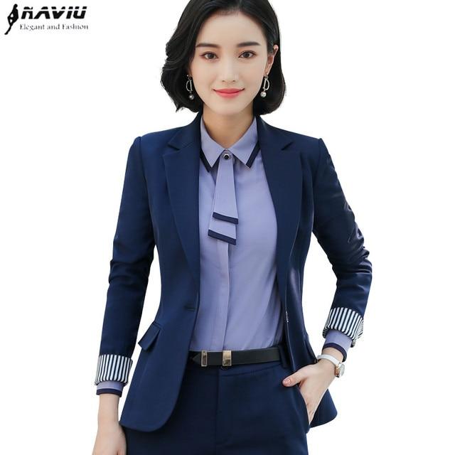 Spring new Business blazer women fashion formal long sleeve jacket office  ladies work wear slim Interview outerwear dc4fa63b5f71