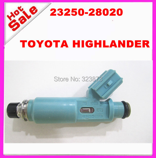 good one Fuel Injector Nozzle oem 23250-28020 23209-28020 FOR TOYOTA HIGHLANDER