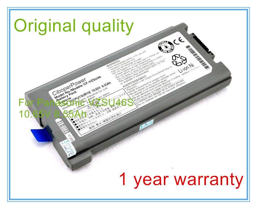8.55Ah Original Laptop Battery CF-VZSU46 For CF-30 CF-31 CF-53 CF-VZSU46AU CF-VZSU46U CF-VZSU46S 9CELLS lmdtk new 12 cells laptop battery for dell latitude e5400 e5500 e5410 e5510 km668 km742 km752 km760 free shipping