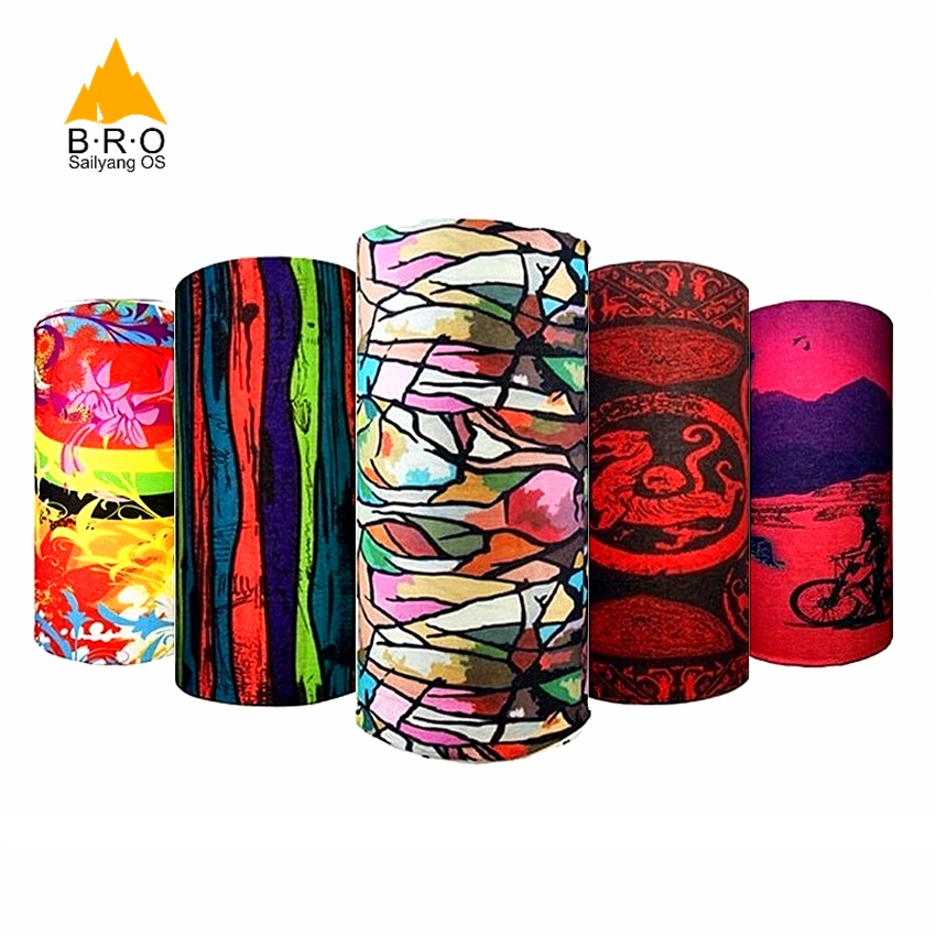 2018 Colorful Magic Sports Scarf Men Women Cycling Headband Bicycle Bandanas Face Mask Climb Magic Scarves Fishing Equipment
