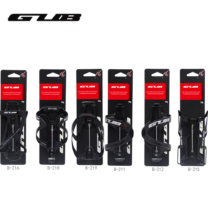 GUB Bicycle Cycling Carbon Bottle Cage MTB Road Bike Water Bottle Holder Cages Bicycle Accessories Carbon Fiber 3K|bike water bottle holder|carbon bottle cage|bottle holder cage - title=