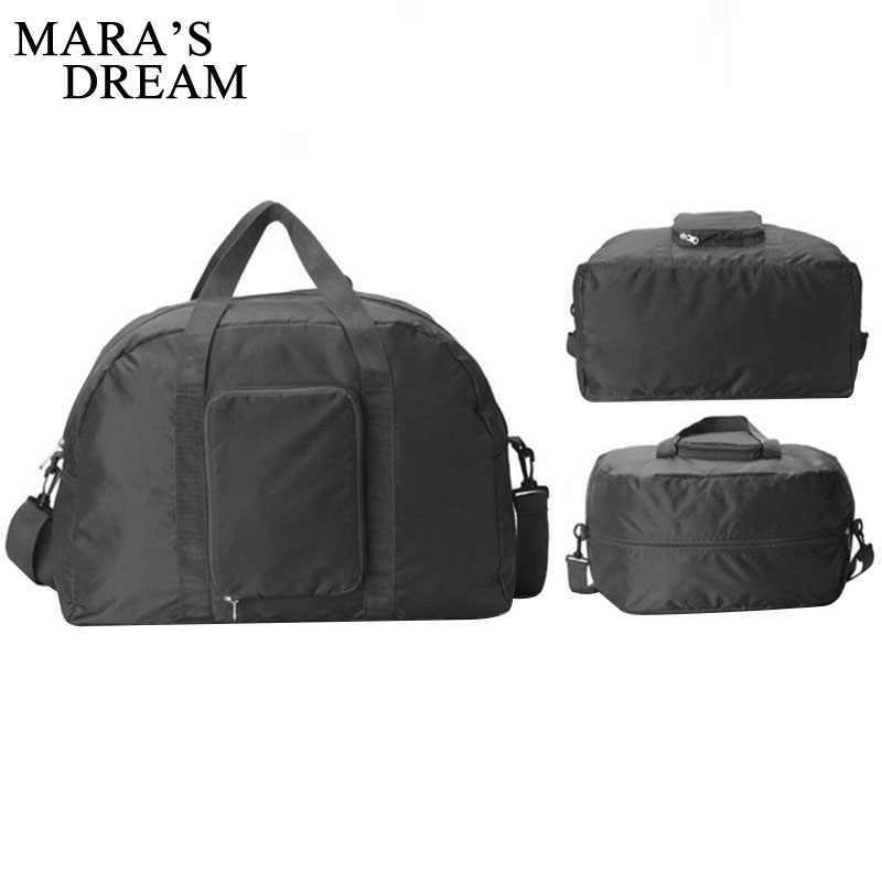 Mara's Dream Travel Portable Receiving Bag Foldable Clothing Finishing Large Capacity Handbag Waterproof High Quality Handbag