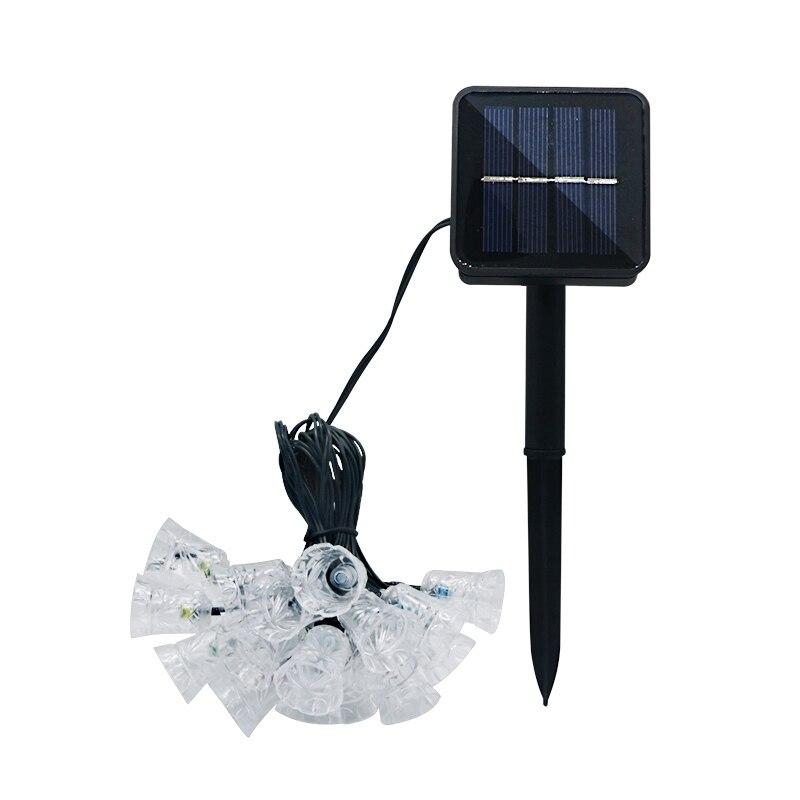 Szyoumy 4.8 m solar luzes da corda