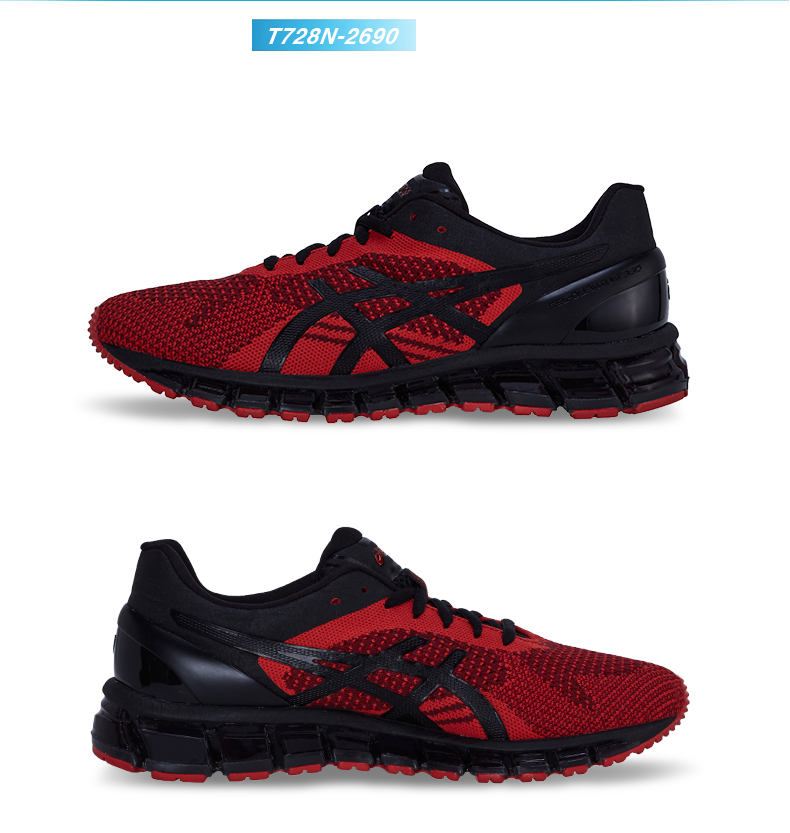 240206e18bac Original ASICS Classic Men Shoes GEL-QUANTUM 360 KNIT Wear-resisting  Cushioning Running Shoes Sports Shoes Breathable Outdoor