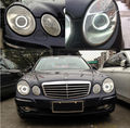 Para Mercedes Benz clase e w211 2003-2009 Excelente Ultrabright iluminación CCFL Angel Eyes kit de Halo Angel Eyes Anillo