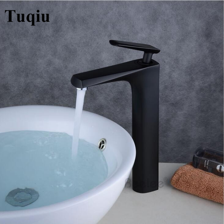 New arrival brass material high quality bathroom single lever hot and cold sink faucet,basin tap mixer free shipping new arrival tall bathroom sink faucet mixer cold and hot kitchen tap single hole water tap kitchen faucet torneira cozinha