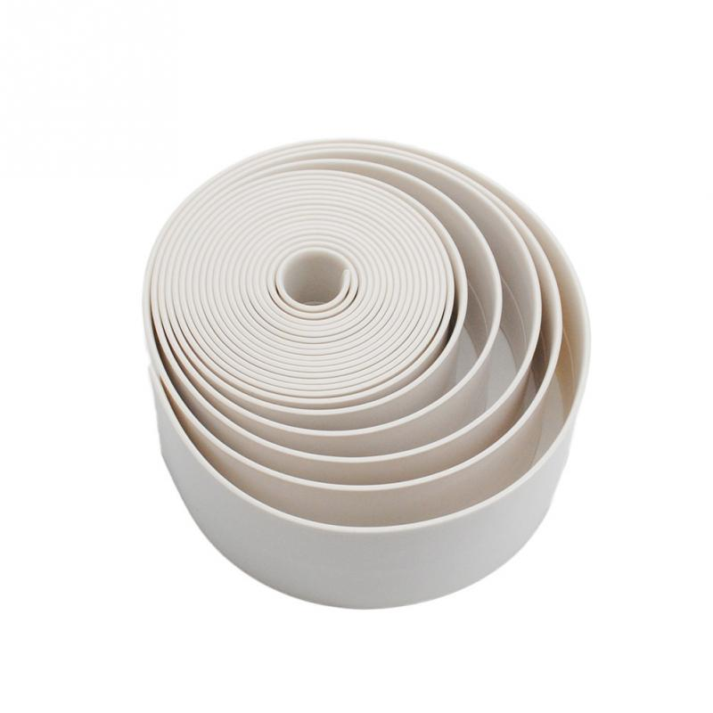 1 Roll Pvc Material Home Kitchen Bathroom Wall Sealing Tape Stickers