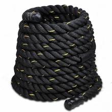 30′ Battle Ropes Crossfit Interval Training Undulation Gym Power Fitness Rope For Body Building