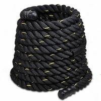 30' Battle Ropes Crossfit Interval Training Undulation Gym Power Fitness Rope For Body Building