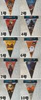 ハロウィン装飾ペナントバナーカーニバル花輪頭蓋骨バットゴースト紙旗clubingバーハウスショップパーティーの装飾ギフト