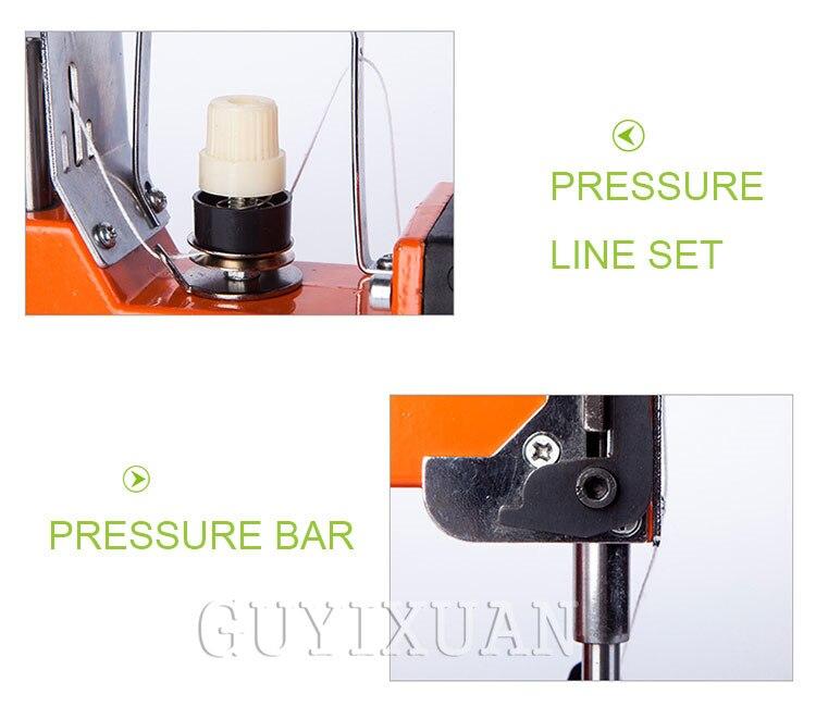 Портативная швейная машина высокоскоростная электрическая швейная машина карманная швейная машина - 5