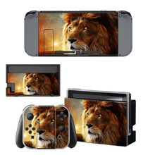 Lion King Skin Sticker For Nintendo Switch Console & Joy-Con Controller & Dock Station