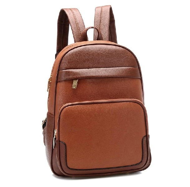 ФОТО New 2017 women's spring fashion backpack, female backpack school bag for girls, student bag, fashion design leather schoolbag