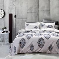 M19043 King Bedding Set Cool Summer Bed Cover Sheet Microfiber fabric bed quilt Bedroom Home Decoration King Queen Twin Size