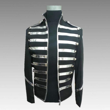 Europe and the United States Michael Jackson new men's suit sequins clothing nightclub men's band rock singer costume