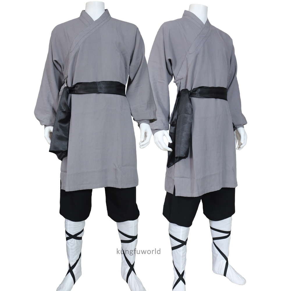 Custom Tailored Shaolin Kung Fu Uniform Tai Chi Suit Martial Arts Wing Chun Clothing 25 Colors High Quality