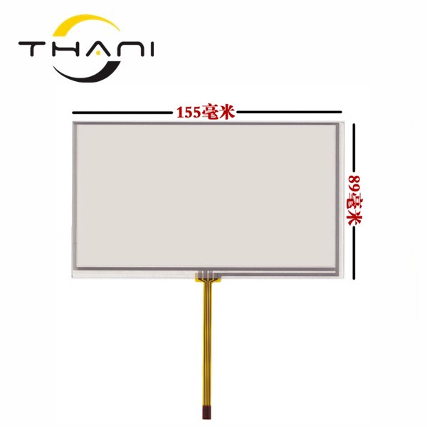 6.5 inch 155*89mm car touch screen to upgrade the original car screen Audi Q5 A4 add touch screen soft screen 0.5mm+tools