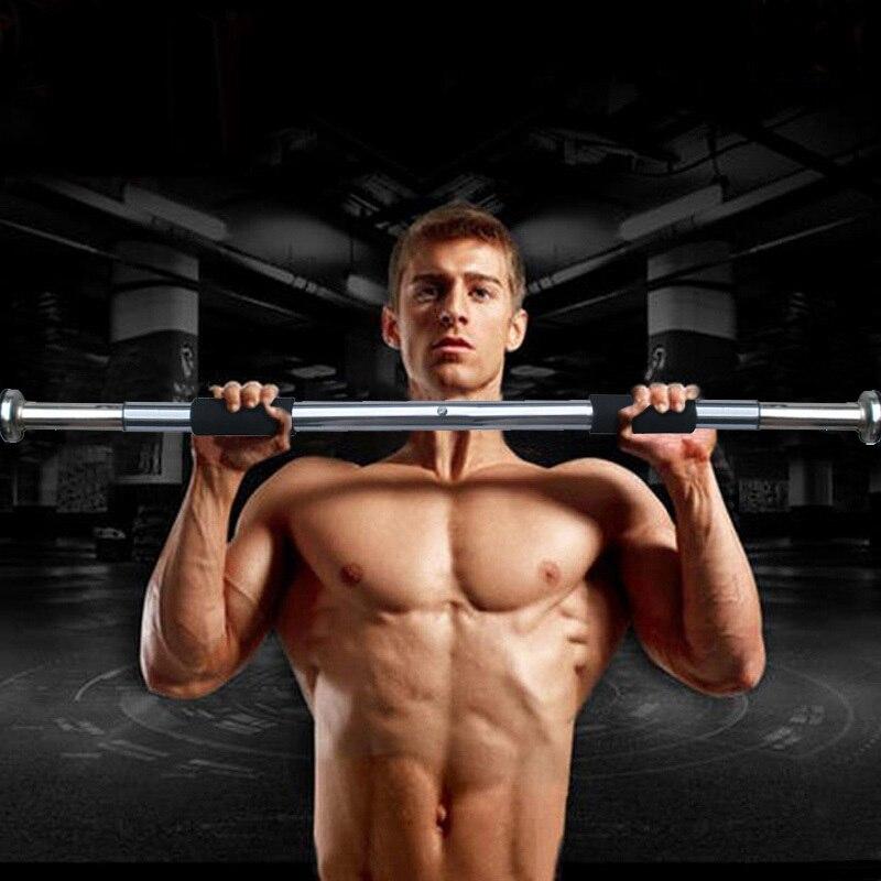 Ayarlanabilir Çene Yukarı Bar 62-100 cm yüksek kalite kapalı spor salonu egzersiz pull up ekipmanları spor eğitimi kapı duvar yatay çubuk