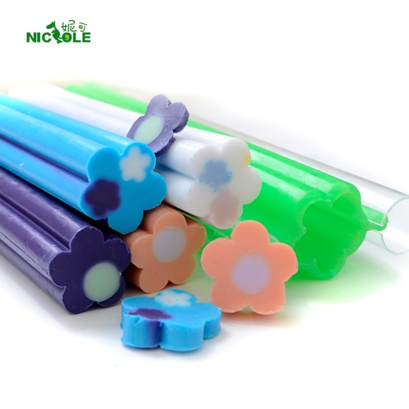 Nicole Clubs Oblikujte silikonske kalupe iz silikonskega mila, ročno izdelane cevi