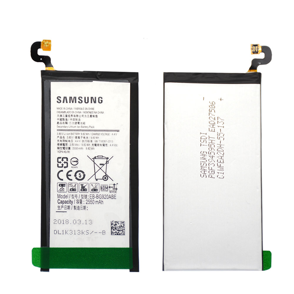 Akku Galaxy Us 16 15 Original 3 8v Eb Bg920abe Rechargeable For Samsung Galaxy S6 Sm G920 Akku Battery Li Ion 2550mah 8 In 1 Tool In Mobile Phone Batteries From