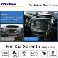 Liislee автомобиля Android gps Navi карта навигации Системы для Kia Sorento 2013 ~ 2014 Радио Стерео Аудио Видео Мультимедиа (нет dvd плеер