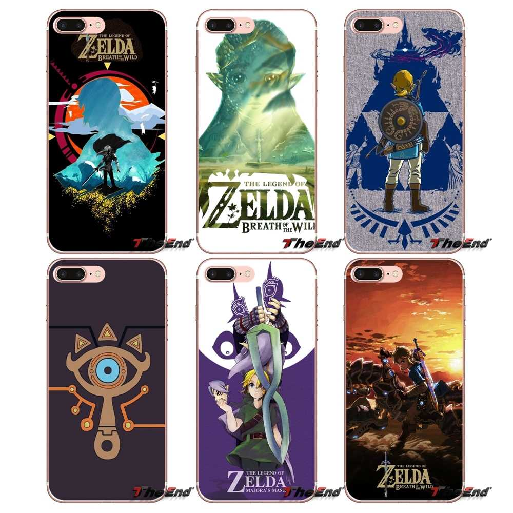 For Huawei P Smart Y6 P8 P9 P10 Plus Nova P20 Lite Pro Mini 2017 SLA-L02 SLA-L22 2i the legend of zelda sheikah slate TPU Covers