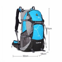 Waterproof 3D Suspension Breathable Hiking Mountaineering Camping Backpack Sports Bag Large Capacity 35L Unisex