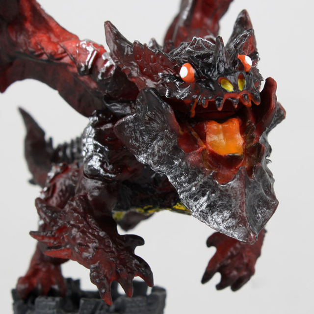 New WOW Deathwing Neltharion in Cataclysm Action Figure MMORPG Video Game Dragon Model Game Players Fan Collection Desk Decor 2
