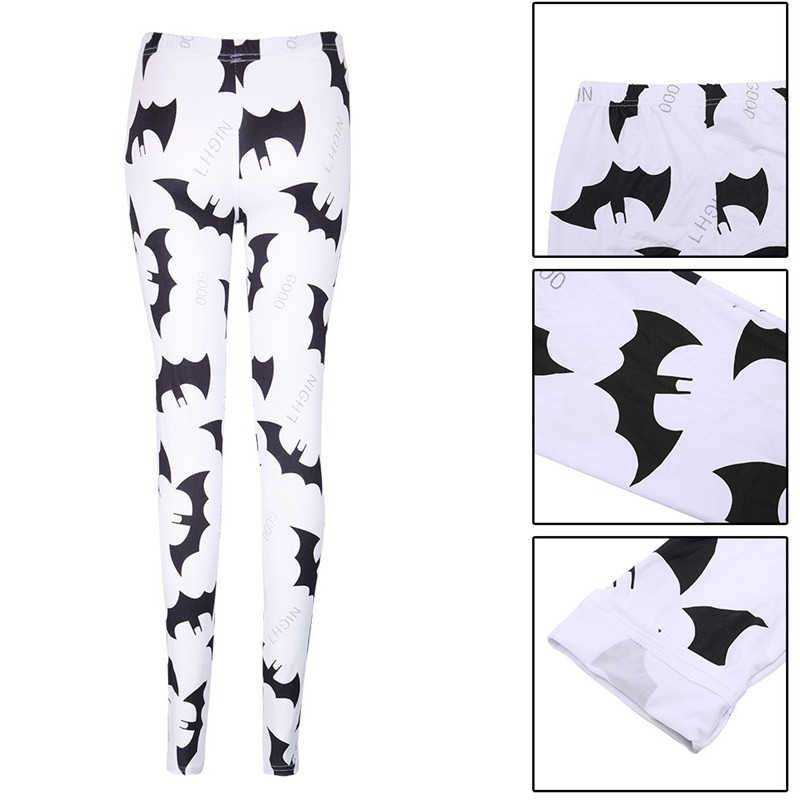95a4c6b24ea82 ราคาถูก THINKTHENDO ดิจิตอล Batman พิมพ์กางเกงขายาวผู้หญิงแฟชั่น Slim  กางเกงกางเกงยืดหยุ่น ซื้อ
