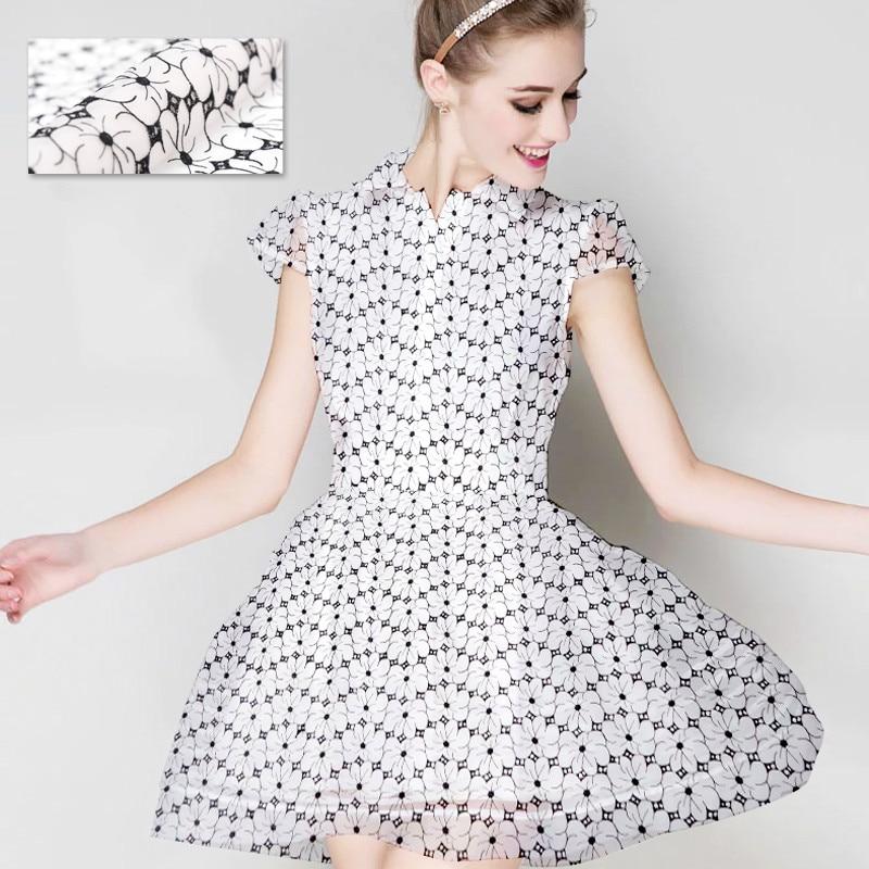 Embroidery silk organza fabric breathable silk fabric for dress 100 silk fabric wholesale silk cloth