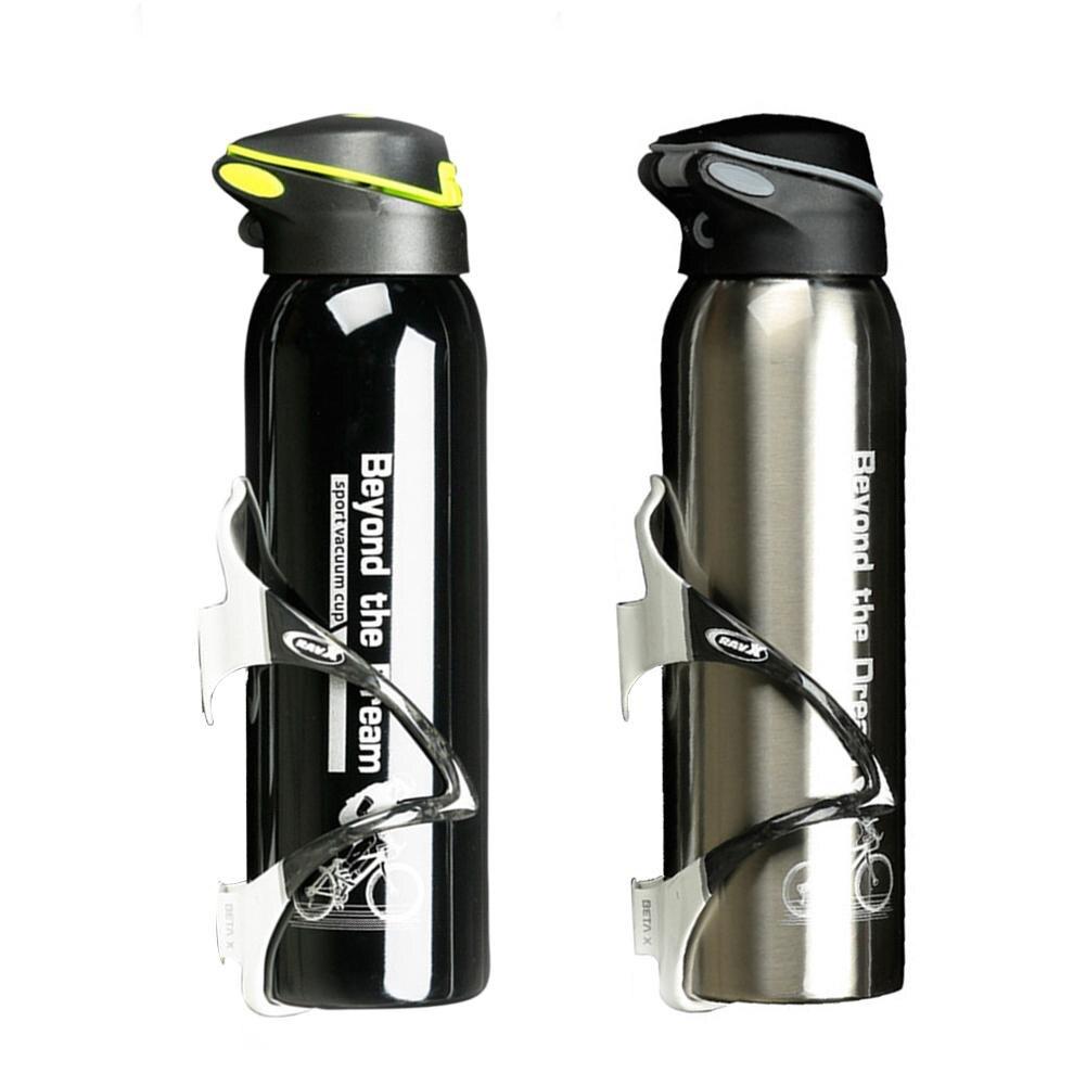 500ml aluminium rower górski ze stopu metali bidon rowerowy czajnik kolarstwo termos ciepłe utrzymanie kubek wody butelki sportowe