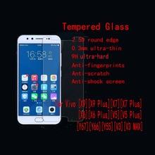 5 шт./лот fenghemei закаленное Стекло протектор для естественных X6 плюс X7 плюс X9 плюс V5S V5 плюс Y67 Y66 Y55 v3 V3 Max Экран гвардии