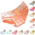 Lindas cuecas das mulheres Multi - cor de algodão rendas suave arco - nó roupa interior sungas calcinhas