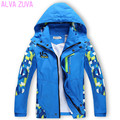 2017 Spring/Autumn Children Jackets Teenagers Kids Boys Active Double-deck Waterproof Windproof Outwear Coats Clt071