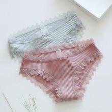 9afe153c626d Sexy de algodón de las mujeres bragas encantadora Niñas Ropa interior venta  al por mayor Multicolor Lencería ropa interior