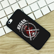 The Walking Dead Negan Lucille Soft TPU Phone Cases For iPhone 6 6S 7 Plus 5 5S 5C SE 4 4S Ipod Touch 4 5 6 Cover Shell Negan