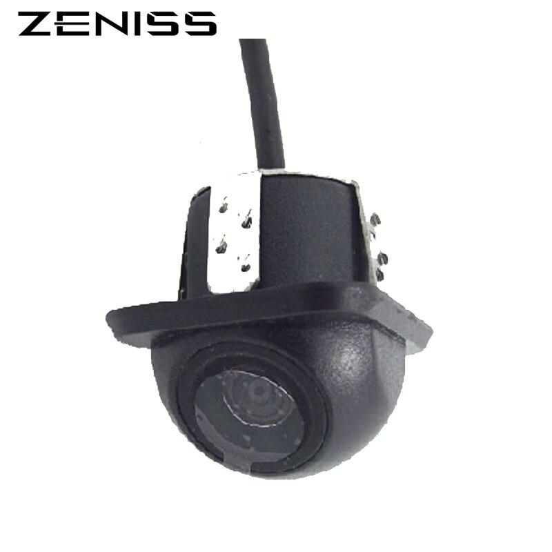 Zeniss cámara universal del Rearview del coche para el reproductor de DVD del coche inversa cámara de reserva del coche CCD con visión nocturna impermeable IP68