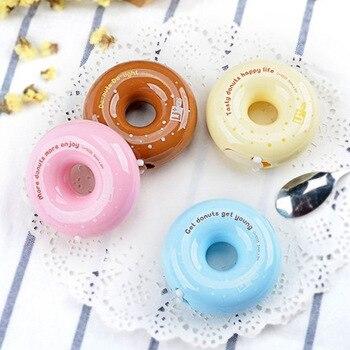 Donut correction tape Kawaii fourniture scolaire Creative deco Macaron stationery school supplies corrector escolar cinta Клейкая лента