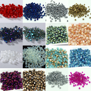 Hot~~ 4mm 1000pcs/lot Bicone 5301 Austrian crystals beads Loose Spacer Bead for DIY Jewelry Making U pick colors